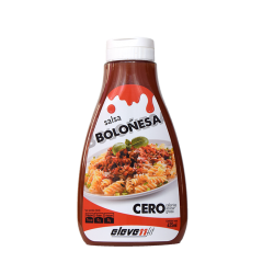 BOLOGNESE FLAVOR SAUCE WITHOUT SUGAR 425ML